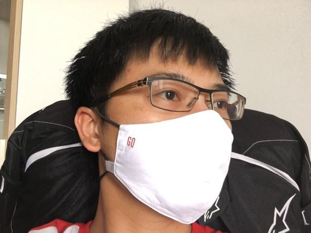 รีวิว หน้ากาก GQWhite  Mask หน้ากากกันน้ำซักได้